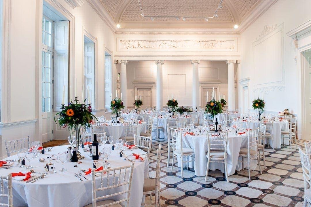 Compton Verney wedding venue in Warwickshire