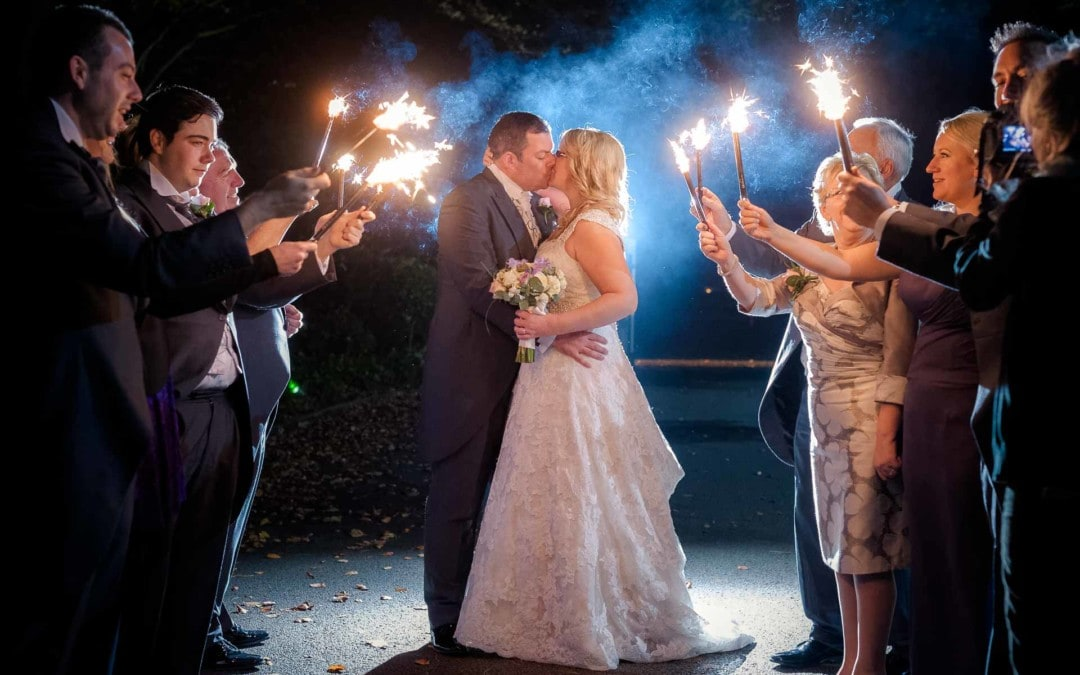 The Sparkler Exit…a How-To Guide