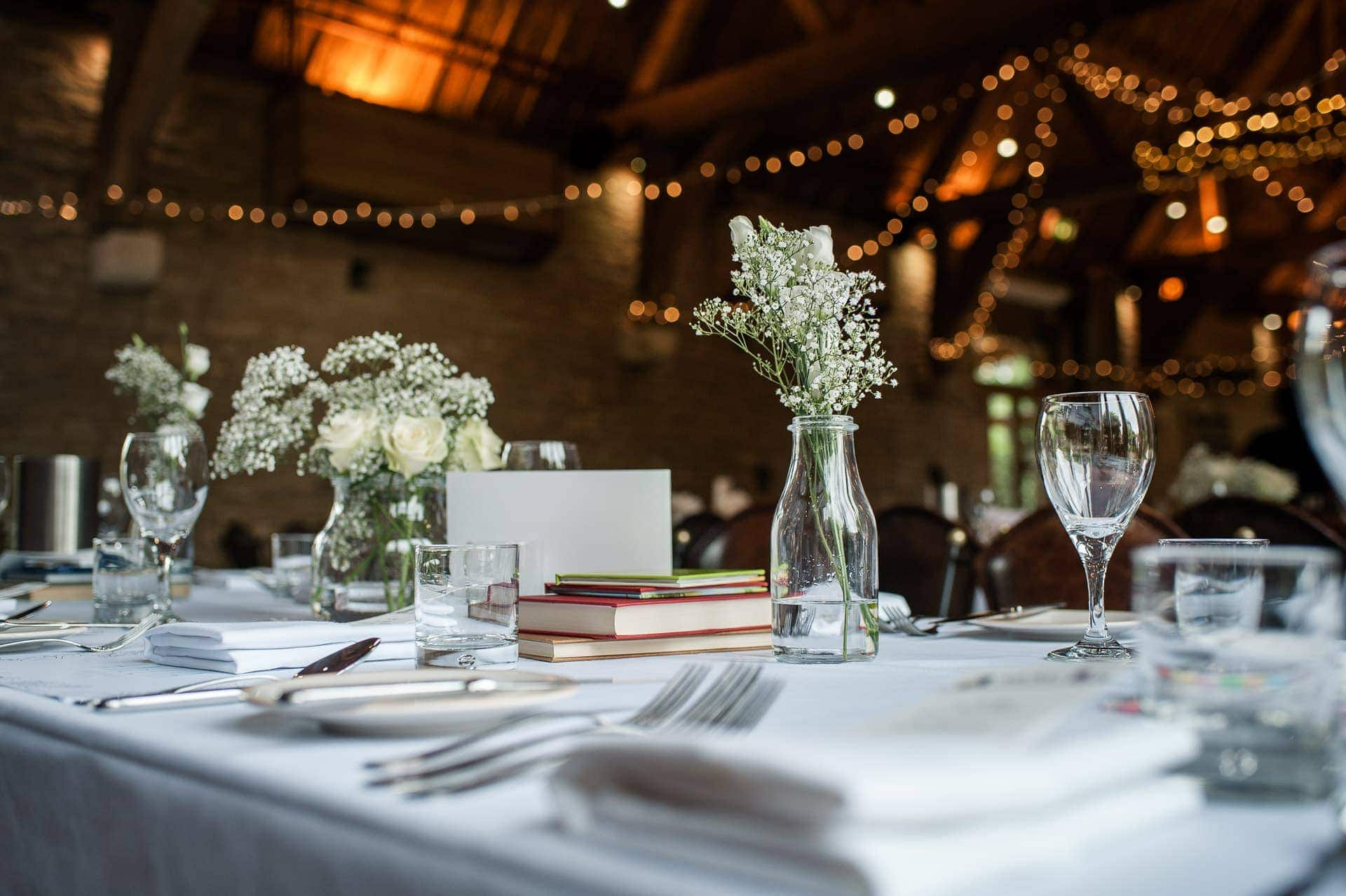 Tythe Barn Wedding Oxfordshire
