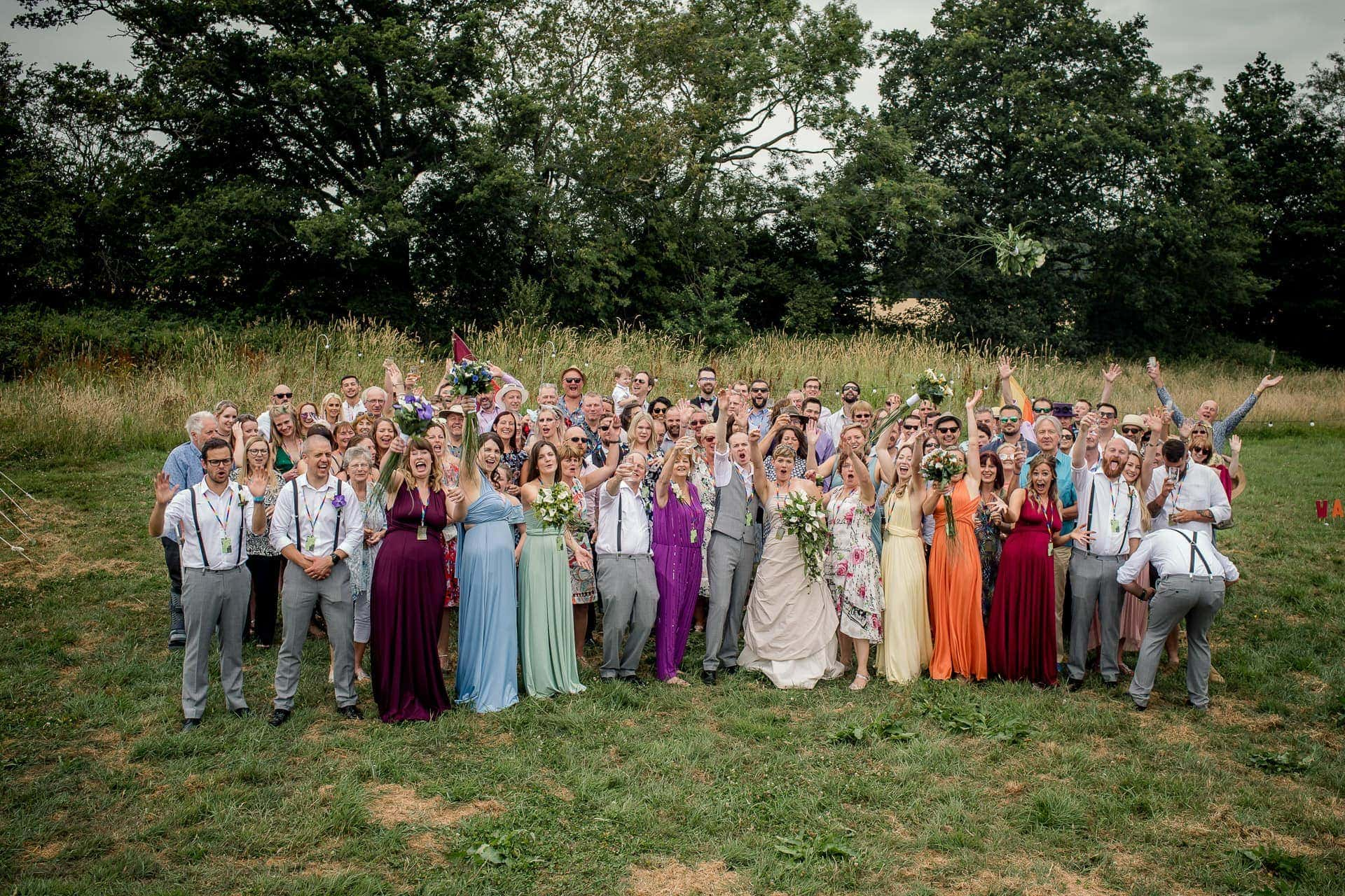 Festival Wedding at Wildwood Bluebell