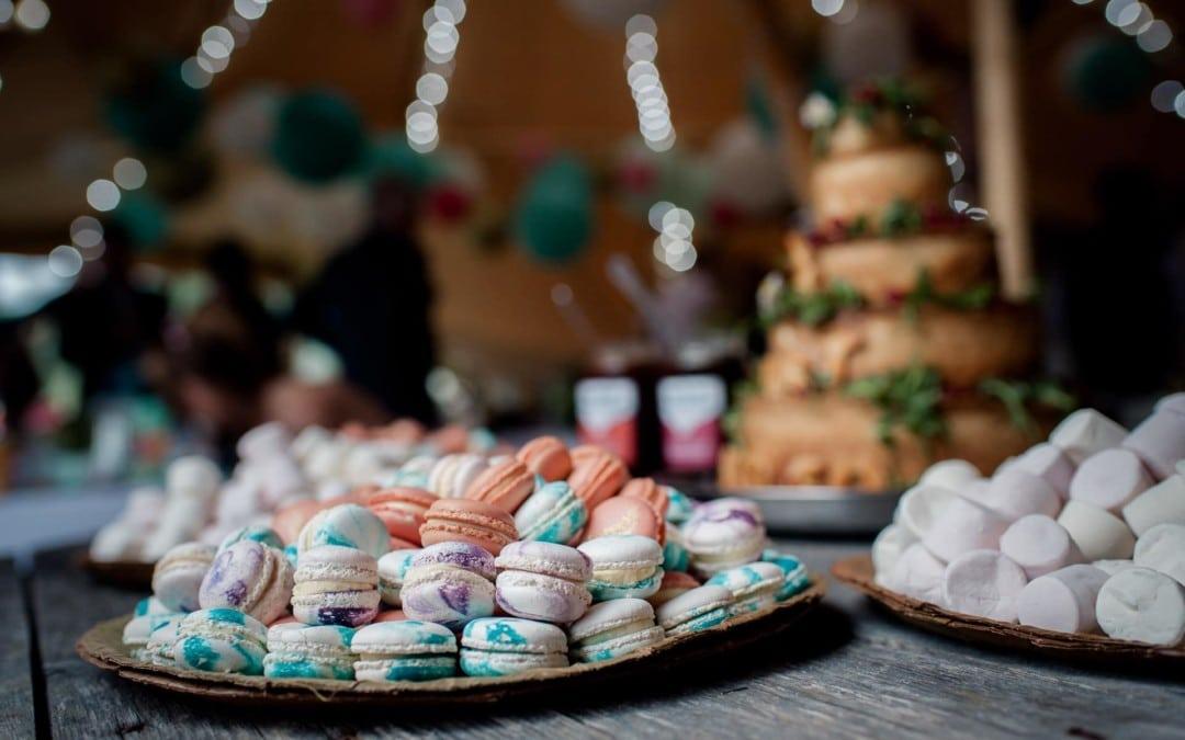 DIY Festival Wedding at Bridge House Barn | Clare + Mick