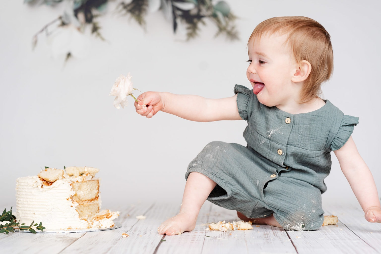 Warwickshire Cake Smash Photography